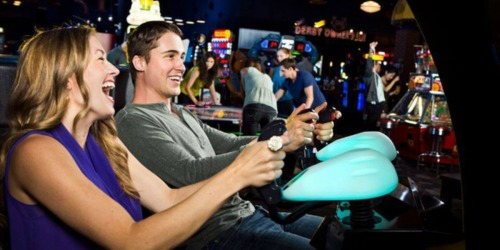 Play Games All Day at Dave & Buster's w/ This $20 Gaming Package for TWO