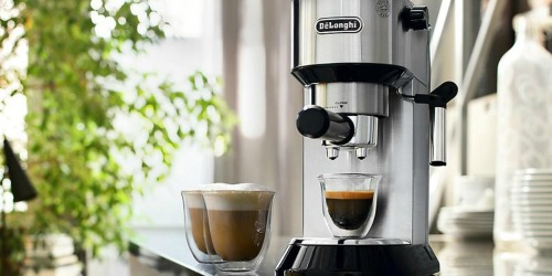 DēLonghi Dedica Slim Espresso & Cappuccino Machine w/ Glasses Only $199.98 (Regularly $250) at Sam's Club