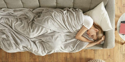 Weighted Blanket + Two Duvet Covers as Low as $33.99 at Woot.com