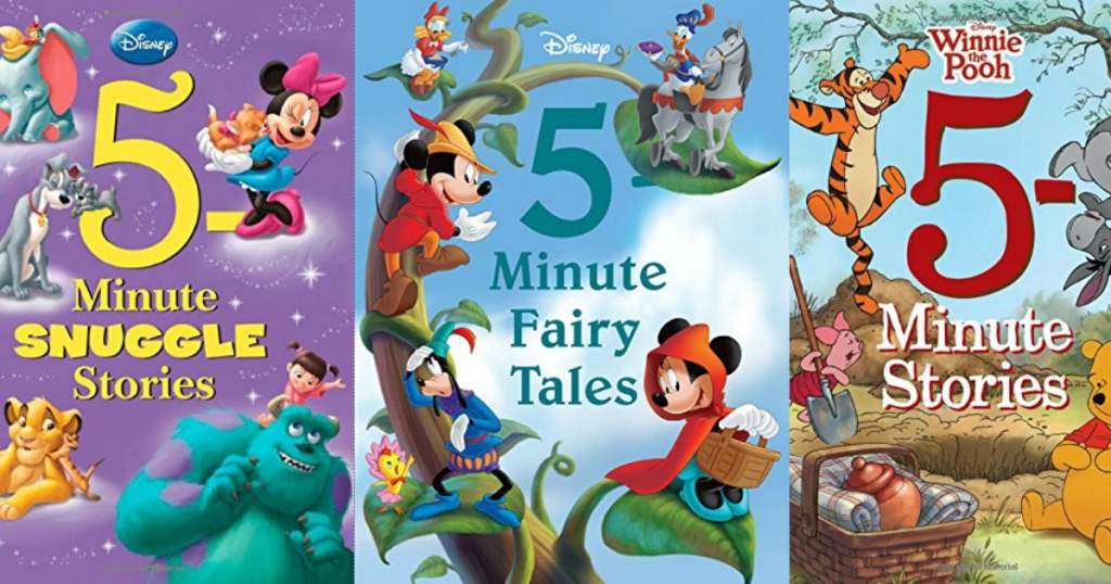 Disney 5-Minute Stories BIG Hardcover Books As Low As $5