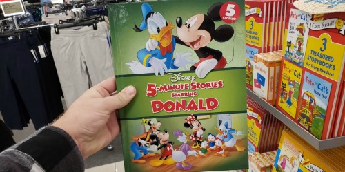 Disney 5-Minute Stories Hardcover Books Possibly Only $2.50 at Kohl's