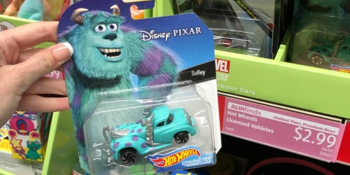 Disney Hot Wheels Character Cars Only $2.99 at ALDI