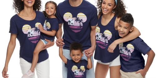 Matching Disney Family Tees as Low as $6 Shipped for Kohl's Cardholders