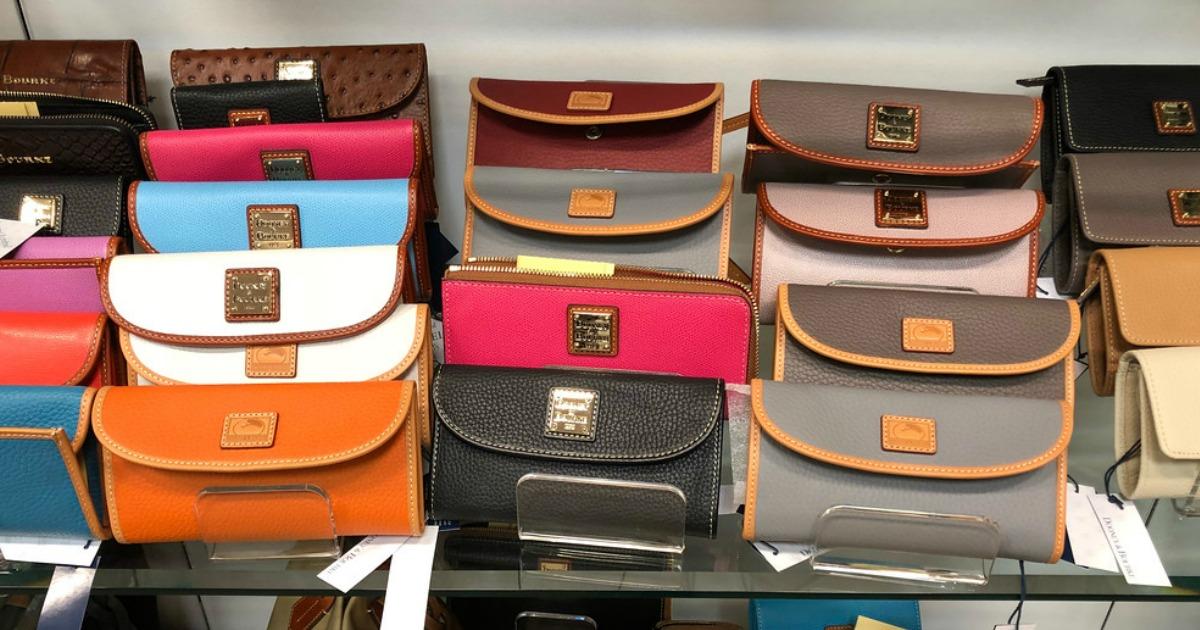 Off Dooney Bourke Wallets Handbags