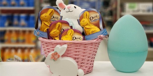 50% Off Dove Solid Chocolate Easter Bunnies at Target