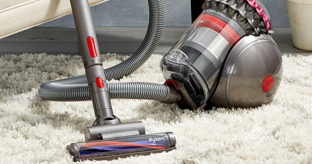Dyson Multi Floor Canister Vacuum Only 199 99 Shipped