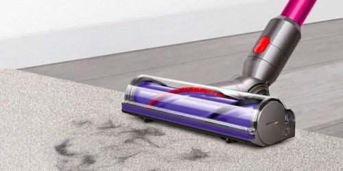 Dyson V6 Cord Free Vacuum Only $149.99 Shipped (Regularly $250) – Amazon Renewed