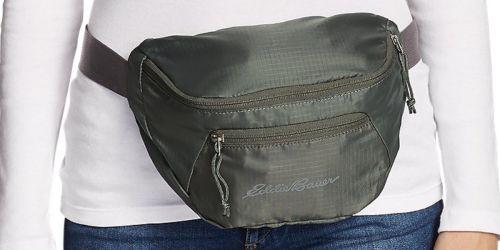 Eddie Bauer Stowaway Packable Waistpack Only $10 (Regularly $40)