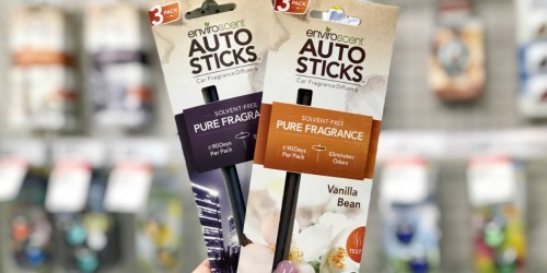 40% Off EnviroScent AutoSticks Car Air Fresheners at Target