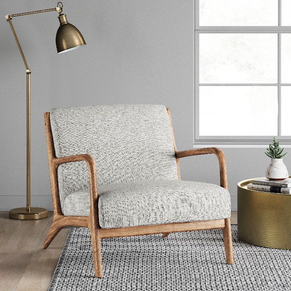 Esters Wooden Chair in living room