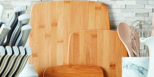 Farberware 3-Piece Bamboo Cutting Board Set Only $7.50 (Regularly $19)