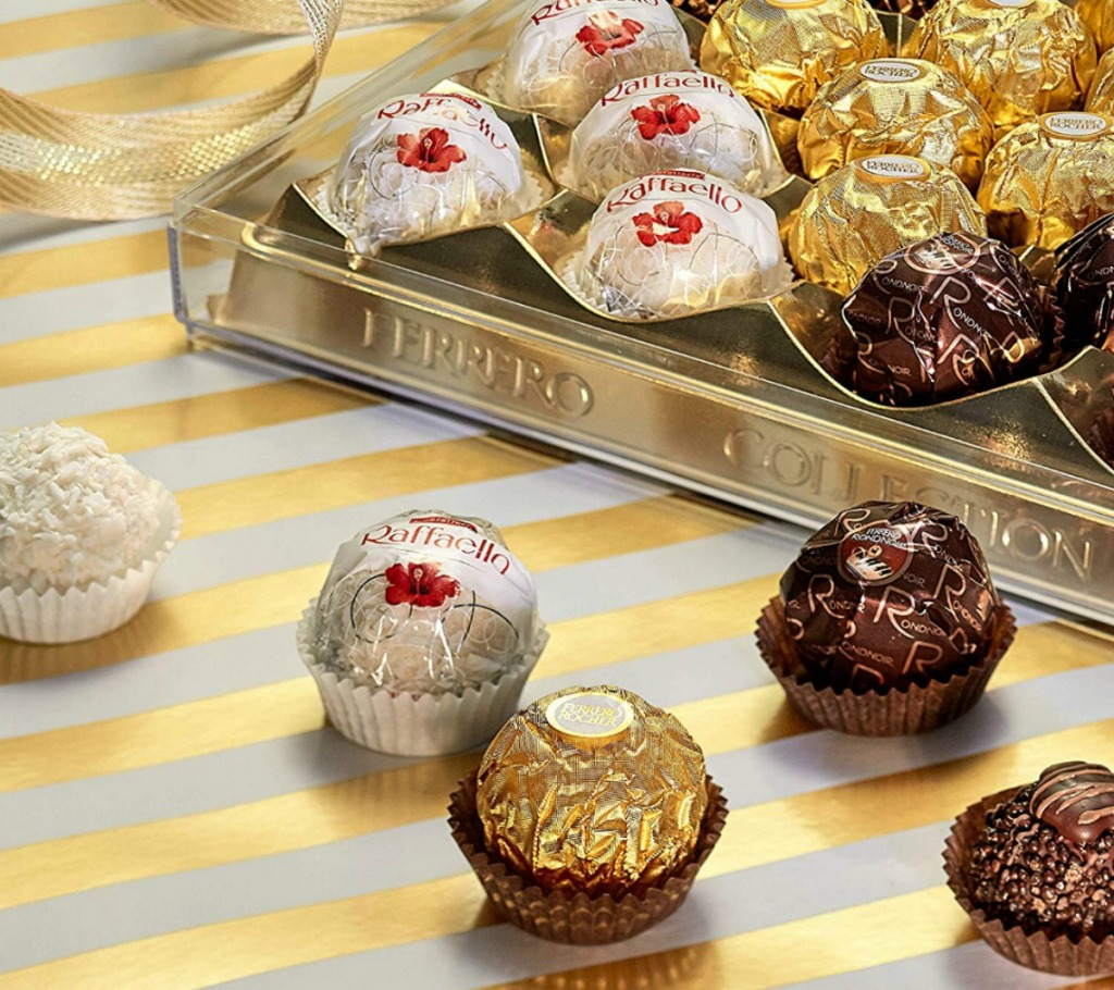 Ferrero Rocher Assorted Chocolates 24 Count Gift Box Just 599