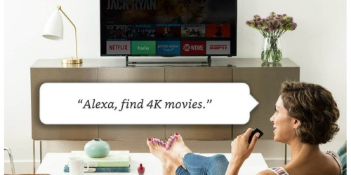 Amazon Fire TV 4K Stick w/ Alexa Voice Remote Media Player Just $39.99 Shipped