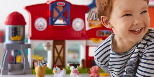 Fisher-Price Little People Caring for Animals Farm Just $18 (Regularly $40) at Target.com