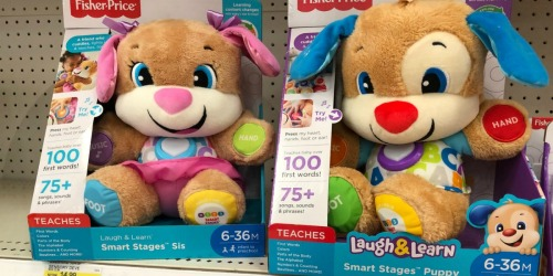 Target: Fisher Price Laugh & Learn Puppy Only $8.53 + More