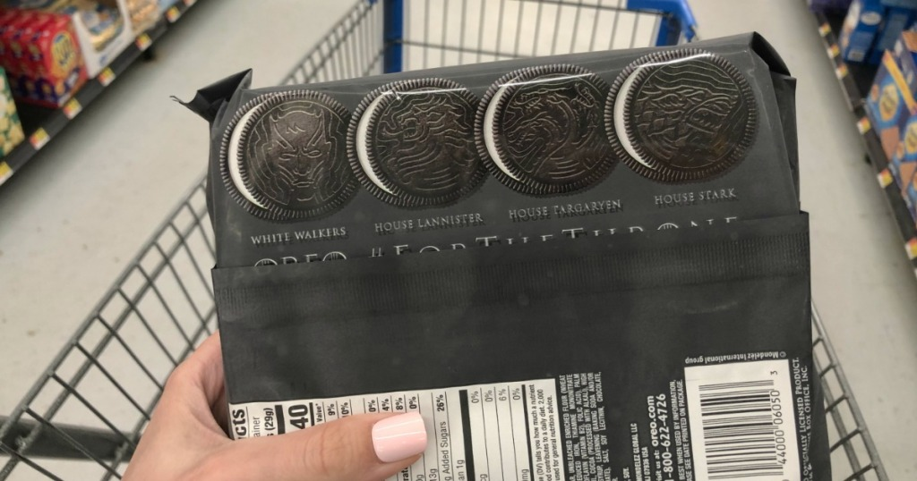 How About Grabbing Some Of Nabiscos New And Limited Edition Game Thrones Oreo Cookies
