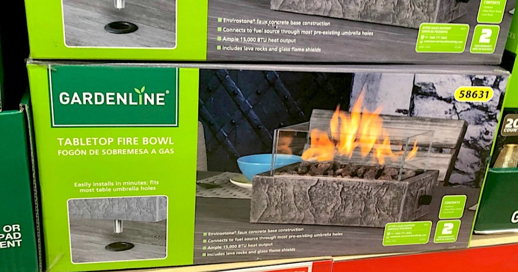 Swell New Patio Deals At Aldi Tabletop Fire Bowl Adirondack Bralicious Painted Fabric Chair Ideas Braliciousco