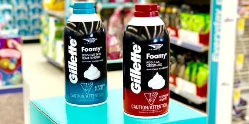 TWO Free Gillette Shaving Creams After Walgreens Rewards