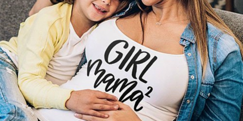 Maternity Tees & Tanks as Low as $12.99 Shipped + More