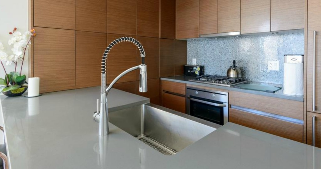 pull down Glacier Bay Kitchen Faucet