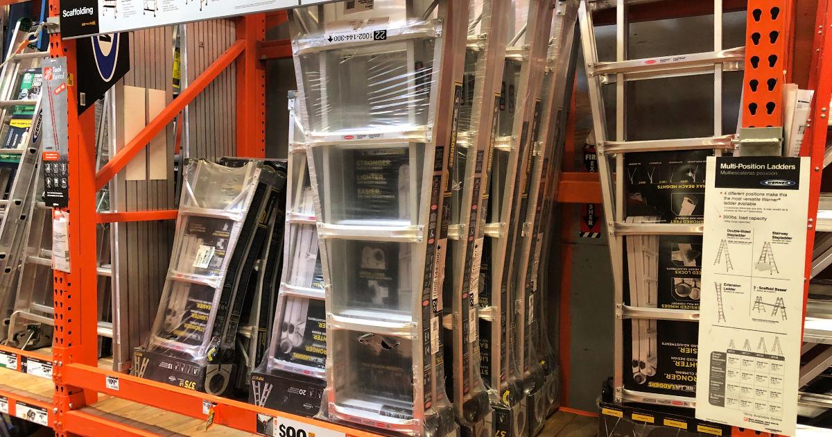Gorilla Ladder Home Depot