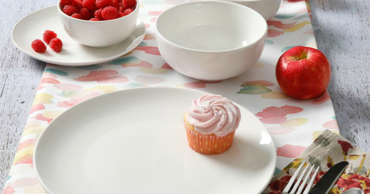Gourmet Expressions 40-Piece Dinnerware Sets Only $39.99