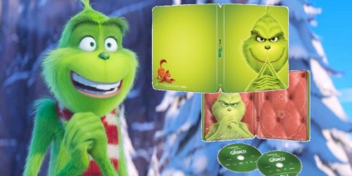 BestBuy.com: The Grinch Blu-Ray Combo Pack Steelbook Only $11.99 (Regularly $28)