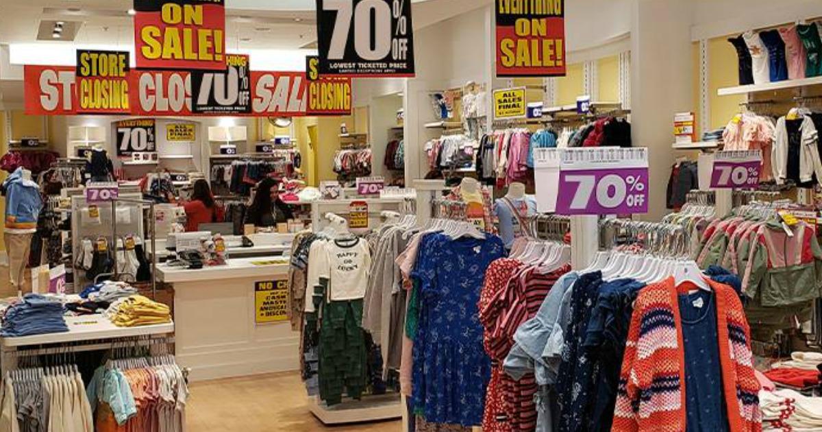 gymboree store deals