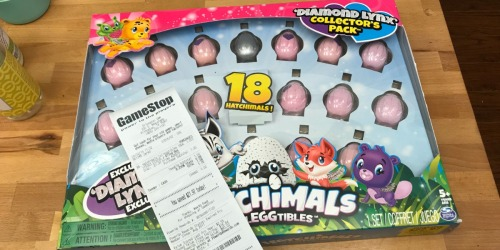 Hatchimals CollEGGtibles 18-Piece Set as Low as $1 at GameStop + More