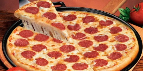 14″ Cast Iron Pizza Pan/Skillet Only $15.88 (Regularly $28)