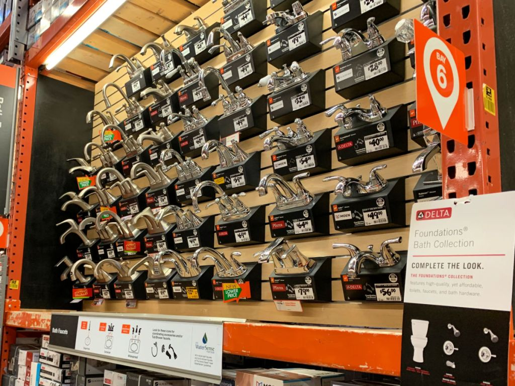 Up to 70% Off Kitchen Faucets at Home Depot
