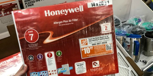 40% Off Honeywell Air Filters at The Home Depot + Free Shipping
