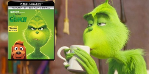 Dr. Seuss' The Grinch 4K Ultra HD Combo Just $14.99 (Regularly $28)