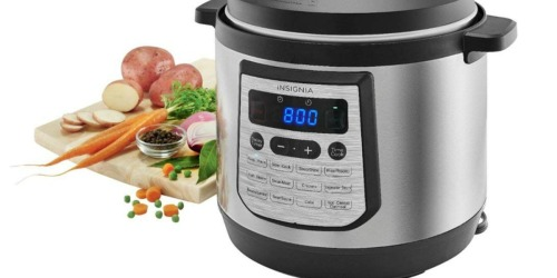 Insignia 8-Quart Pressure Cooker Only $39.99 Shipped (Regularly $120)