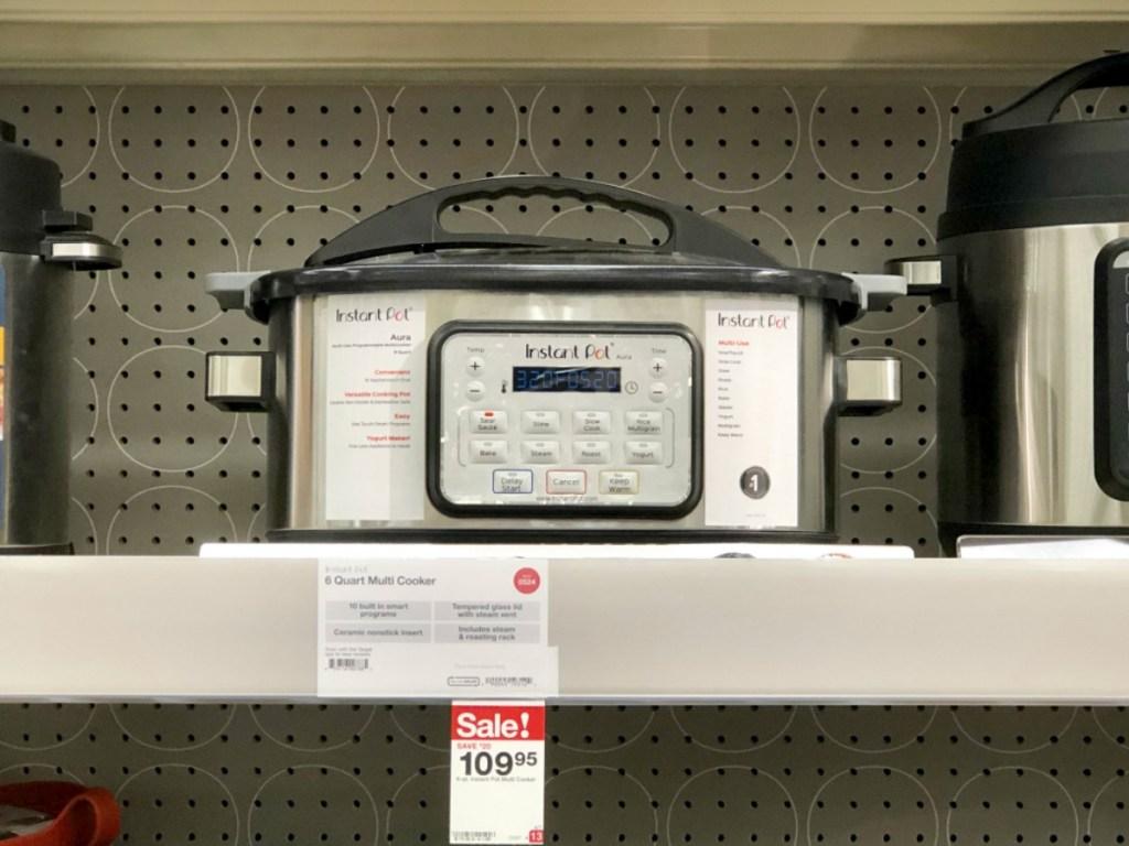 a931cd117776 Target Deal Idea (Thru 5/4):. Select. Instant Pot Aura Multicooker 6-Quart  ...