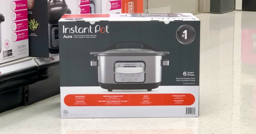 c0441c5fbdd5 Instant Pot Aura 6-Quart Multicooker Only $76.97 at Target (Regularly $130)