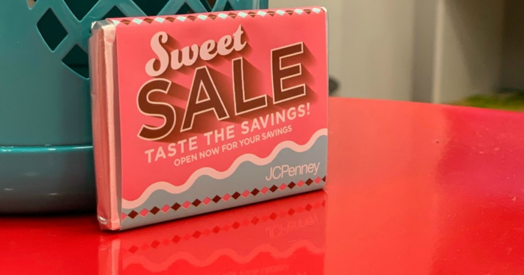 be6c04aa JCPenney Mystery Coupon Giveaway w/ Free Chocolate Bar = Up to 50% Off  Entire Purchase (4/18-4/20)