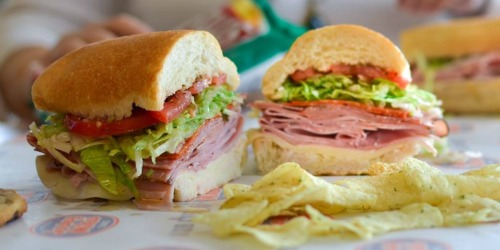 Buy One Jersey Mike's Sub, Get One FREE (Today Only)