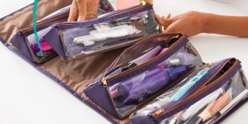 Joy Mangano Travel/Hanging Beauty Case Only $12 Shipped