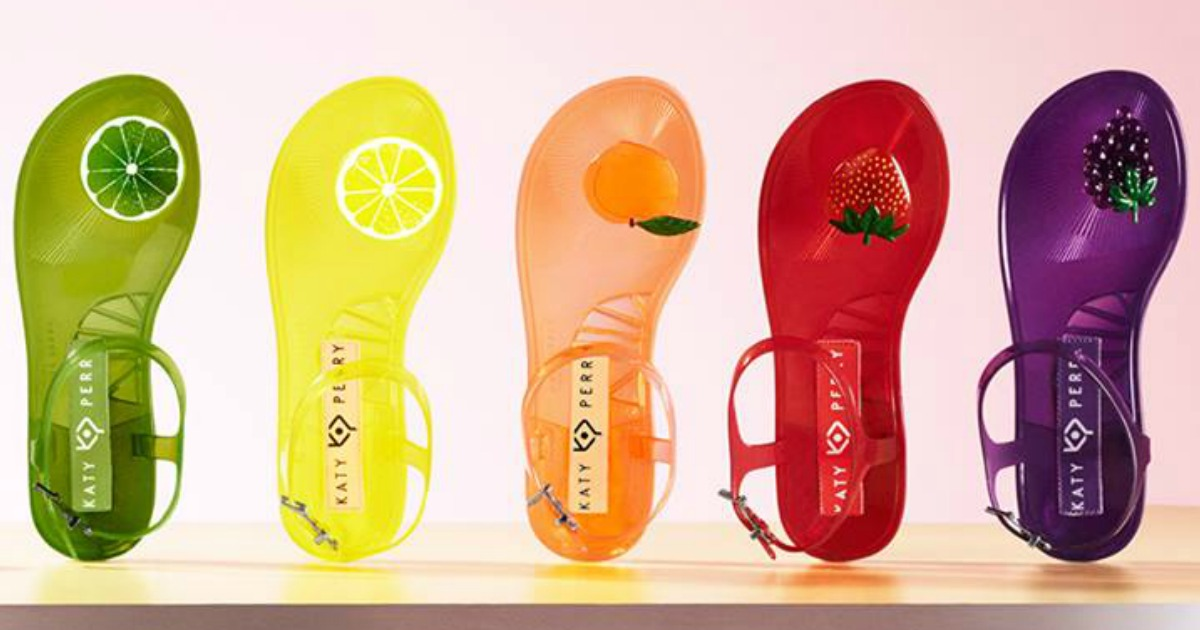 Katy Perry Women's Jelly Sandals Only