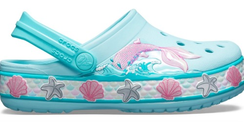 Crocs Kids Mermaid or Cupcake Clogs Just $17.50 Each Shipped (Regularly $35) & More