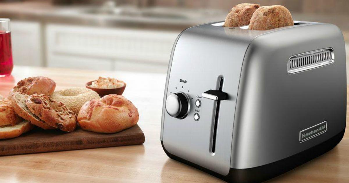 Kitchenaid 2 Slice Toaster Only 34 99 At Homedepot Com