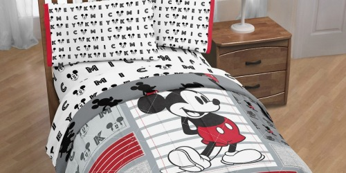 Disney Comforter AND Sheet Set Just $28.75 Shipped for Kohl's Cardholders (Over $110 Value)