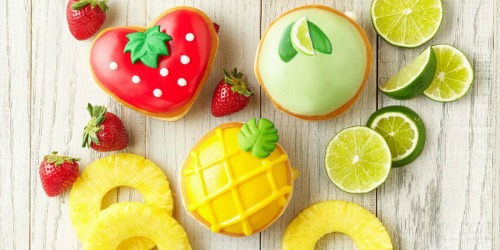 Krispy Kreme Limited Edition Fruit-Inspired Doughnuts Available Soon (Lemon Glaze, Strawberry & More )