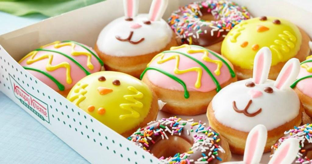 krispy-kreme-spring-doughnuts