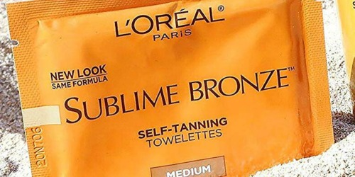 FREE L'Oreal Paris Sublime Bronze Self-Tanning Towelettes