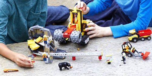 LEGO City Mining Experts Site Set Only $72.90 Shipped (Regularly $100)