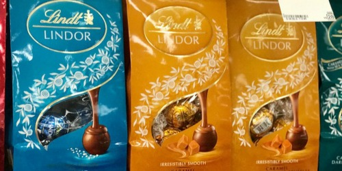 Lindt Lindor Truffles 60-Count Only $10.99 at Woot! (Dark Chocolate, Caramel, Sea Salt & More)
