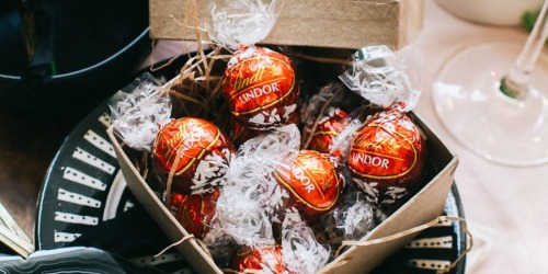 Lindt LINDOR Chocolate Truffles 60-Count Only $9.92 Shipped on Amazon | Great for Stocking Stuffers