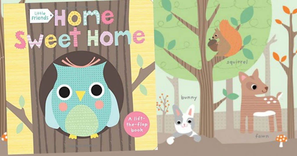 2dd067b736d2 Hop on over to Amazon to save up to 45% off select Lift-the-Flap Board  Books for the littles.
